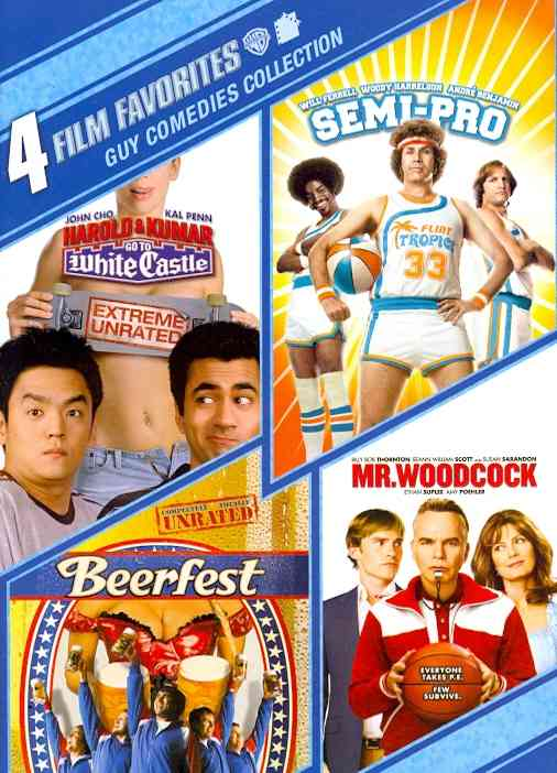 4 FILM FAVORITES:GUY COMEDIES BY FERRELL,WILL (DVD)